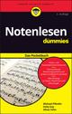 Notenlesen für Dummies Das Pocketbuch, 2. Auflage (352780143X) cover image