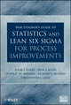 Practitioner's Guide to Statistics and Lean Six Sigma for Process Improvements (0470114940) cover image