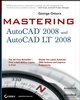 Mastering AutoCAD 2008 and AutoCAD LT 2008 (0470171340) cover image
