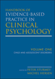 Handbook of Evidence-Based Practice in Clinical Psychology, Volume 1, Child and Adolescent Disorders (0470335440) cover image