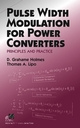 Pulse Width Modulation for Power Converters: Principles and Practice (0471208140) cover image