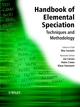 Handbook of Elemental Speciation: Techniques and Methodology (0471492140) cover image