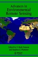 Advances in Environmental Remote Sensing (0471954640) cover image
