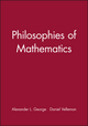 Philosophies of Mathematics (0631195440) cover image
