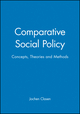 Comparative Social Policy: Concepts, Theories and Methods (0631207740) cover image