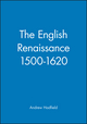 The English Renaissance 1500-1620 (0631220240) cover image