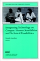 Integrating Technology on Campus: Human Sensibilities and Technical Possibilities: New Directions for Community Colleges, Number 101 (0787942340) cover image