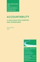 Accountability: A Challenge for Charities and Fundraisers: New Directions for Philanthropic Fundraising, Number 31 (0787948640) cover image