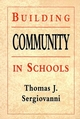 Building Community in Schools (0787950440) cover image