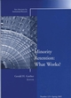 Minority Retention: What Works?: New Directions for Institutional Research, Number 125