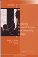 Sustaining Financial Support for Community Colleges: New Directions for Community Colleges, Number 132 (0787983640) cover image