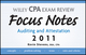Wiley CPA Examination Review Focus Notes: Auditing and Attestation 2011 (1118034740) cover image