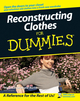 Reconstructing Clothes For Dummies (1118051440) cover image