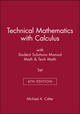 Technical Mathematics with Calculus, 6e with Student Solutions Manual Math, 6e & Tech Math, 6e Set (1118118340) cover image