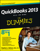 QuickBooks 2013 All-in-One For Dummies (1118461940) cover image