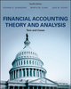 Financial Accounting Theory and Analysis: Text and Cases, 12th Edition (1119299640) cover image