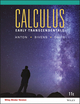 Calculus Early Transcendentals 11th edition Wiley E-Text: Powered by VitalSource with WileyPLUS eCommerce Set (1119367840) cover image