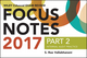 Wiley CIAexcel Exam Review Focus Notes 2017, Part 2: Internal Audit Practice (1119439140) cover image