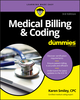 Medical Billing and Coding For Dummies, 3rd Edition (1119625440) cover image