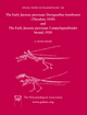 Early Jurassic pterosaur Dorygnathus banthensis (Theodori, 1830) and The Early Jurassic pterosaur Campylognathoides Strand, 1928 (1405192240) cover image