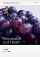 Resveratrol and Health, Volume 1215 (1573318140) cover image