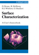 Surface Characterization: A User's Sourcebook (3527612440) cover image
