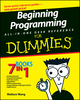 Beginning Programming All-In-One Desk Reference For Dummies (0470108541) cover image