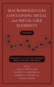 Macromolecules Containing Metal and Metal-Like Elements, Volume 9: Supramolecular and Self-Assembled Metal-Containing Materials (0470251441) cover image