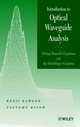 Introduction to Optical Waveguide Analysis: Solving Maxwell's Equation and the Schrödinger Equation (0471406341) cover image