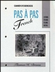 Workbook to accompany Pas à Pas French: Listening, Speaking, Reading, Writing (0471617741) cover image