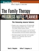 The Family Therapy Progress Notes Planner (0471678341) cover image