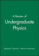 A Review of Undergraduate Physics (0471816841) cover image