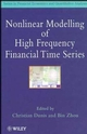 Nonlinear Modelling of High Frequency Financial Time Series (0471974641) cover image