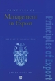 Principles of Management in Export: The Institute of Export (0631191941) cover image
