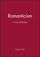 Romanticism: A Critical Reader (0631195041) cover image