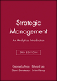 Strategic Management: An Analytical Introduction, 3rd Edition (0631201041) cover image