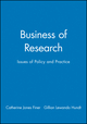 Business of Research: Issues of Policy and Practice (0631228241) cover image