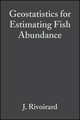 Geostatistics for Estimating Fish Abundance (0632054441) cover image