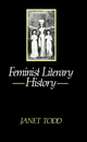 Feminist Literary History (0745605141) cover image