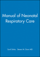 Manual of Neonatal Respiratory Care (0879934441) cover image