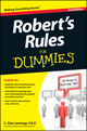 Robert's Rules For Dummies, 2nd Edition (1118294041) cover image