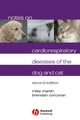Notes on Cardiorespiratory Diseases of the Dog and Cat, 2nd Edition (1405122641) cover image