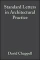 Standard Letters in Architectural Practice, 3rd Edition (1405147741) cover image