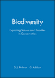 Biodiversity: Exploring Values and Priorities in Conservation (1444313541) cover image