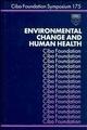 Environmental Change and Human Health (0470514442) cover image