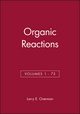 Organic Reactions, Volumes 1 - 73, Set (0470523042) cover image