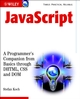 JavaScript: A Programmer's Companion from Basic through DHTML, CSS and DOM (0470847042) cover image