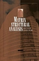 Matrix Structural Analysis (0471123242) cover image