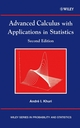 Advanced Calculus with Applications in Statistics, 2nd Edition (0471391042) cover image