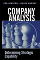 Company Analysis: Determining Strategic Capability (0471494542) cover image